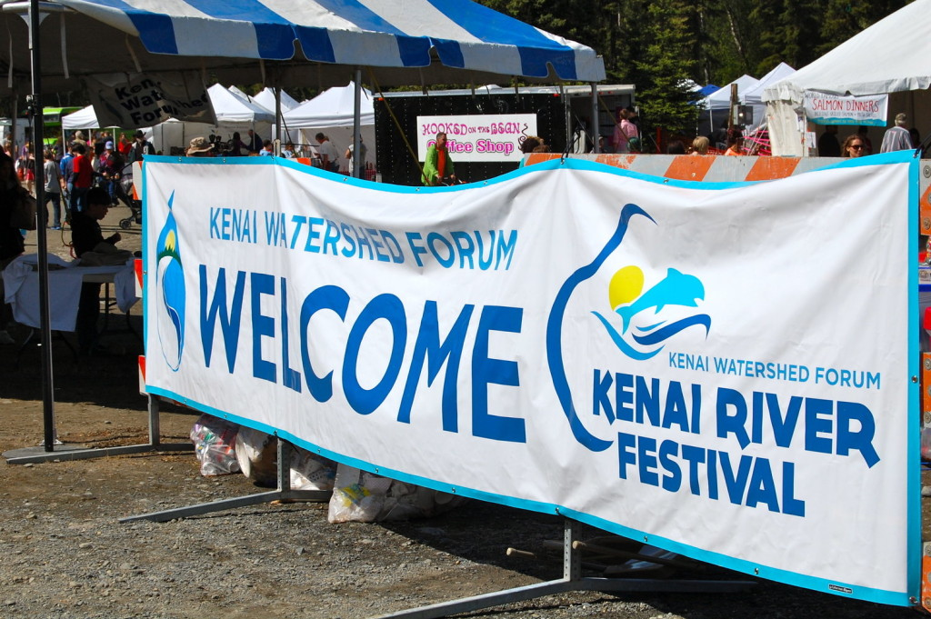 Welcome KRF sign